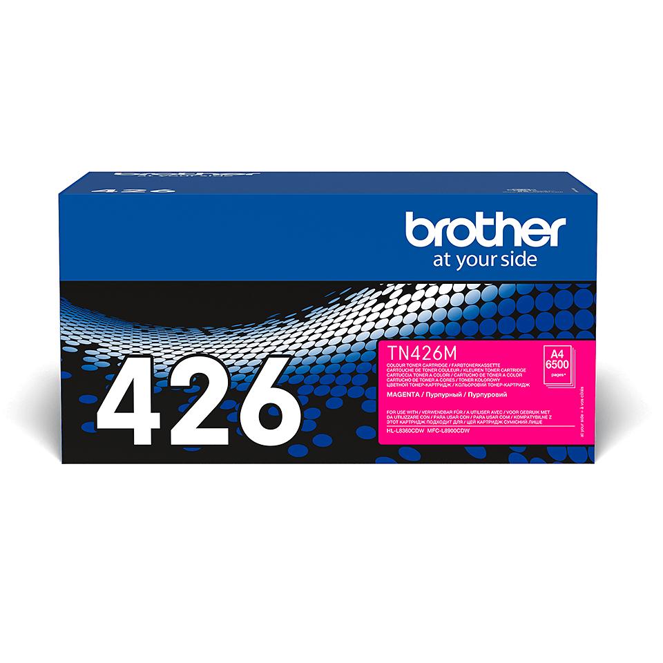 Brother TN-426M Toner Cartridge - Magenta