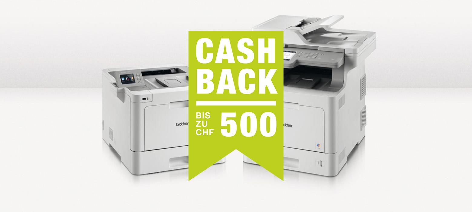 Brother Cashback - Promotionsmodelle