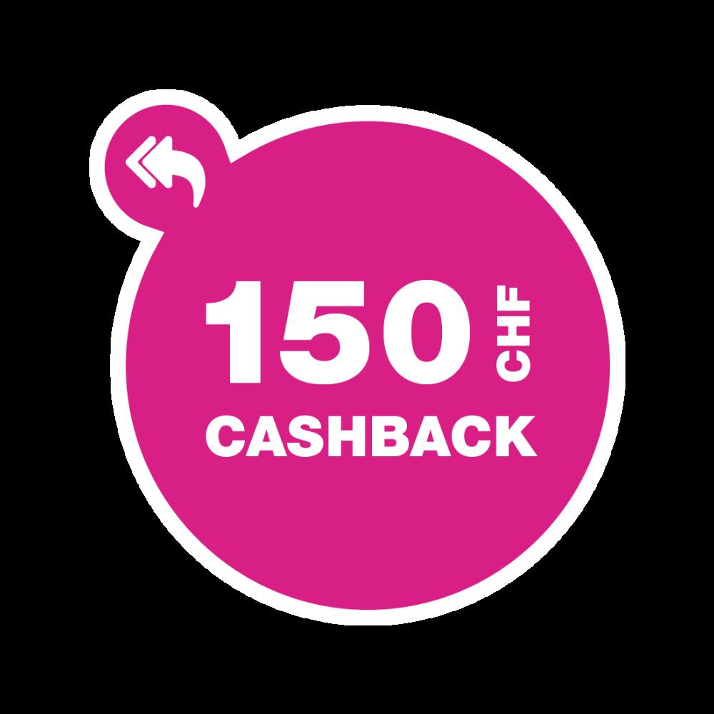 CashBack_Q1_CHF150