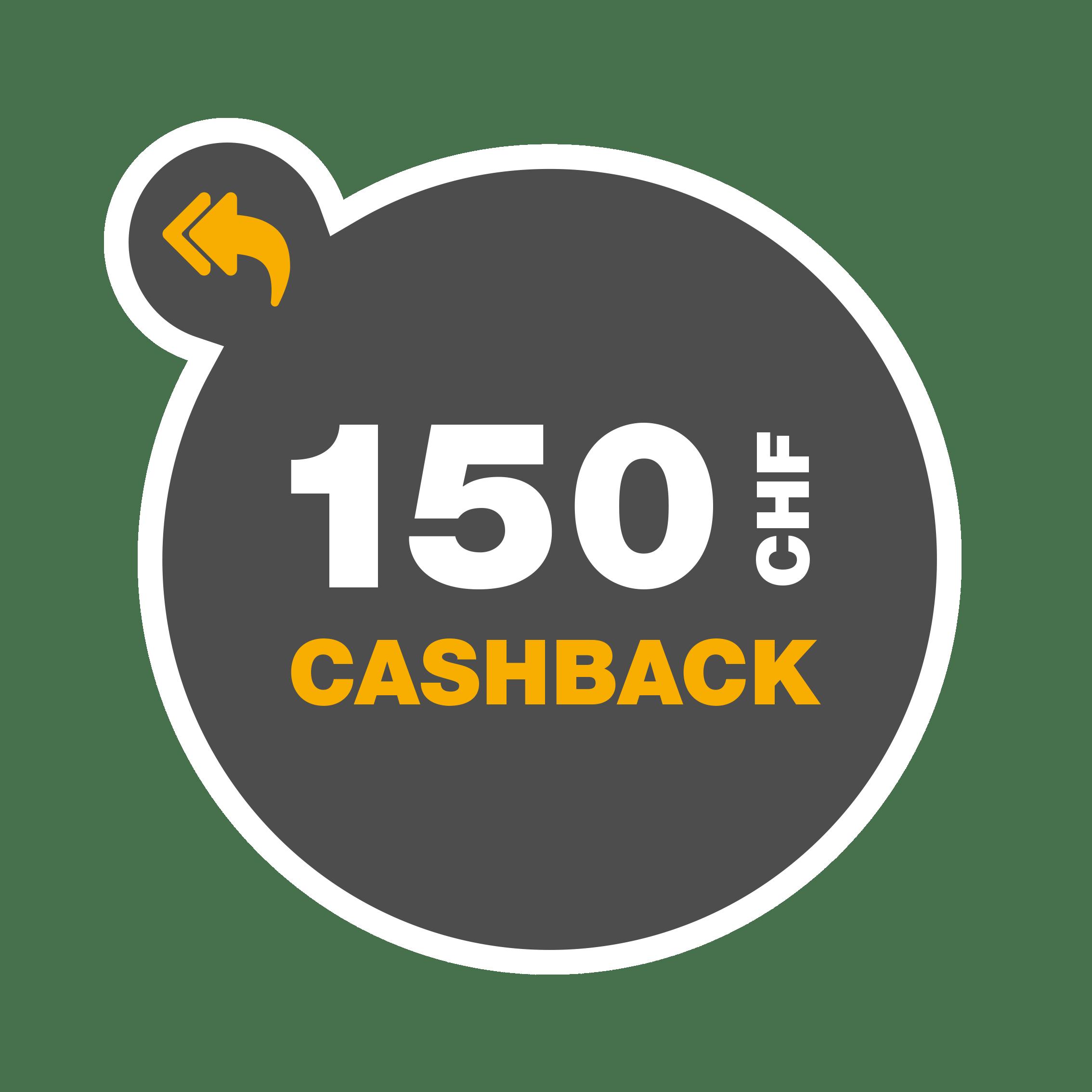 Cashback_CHF150