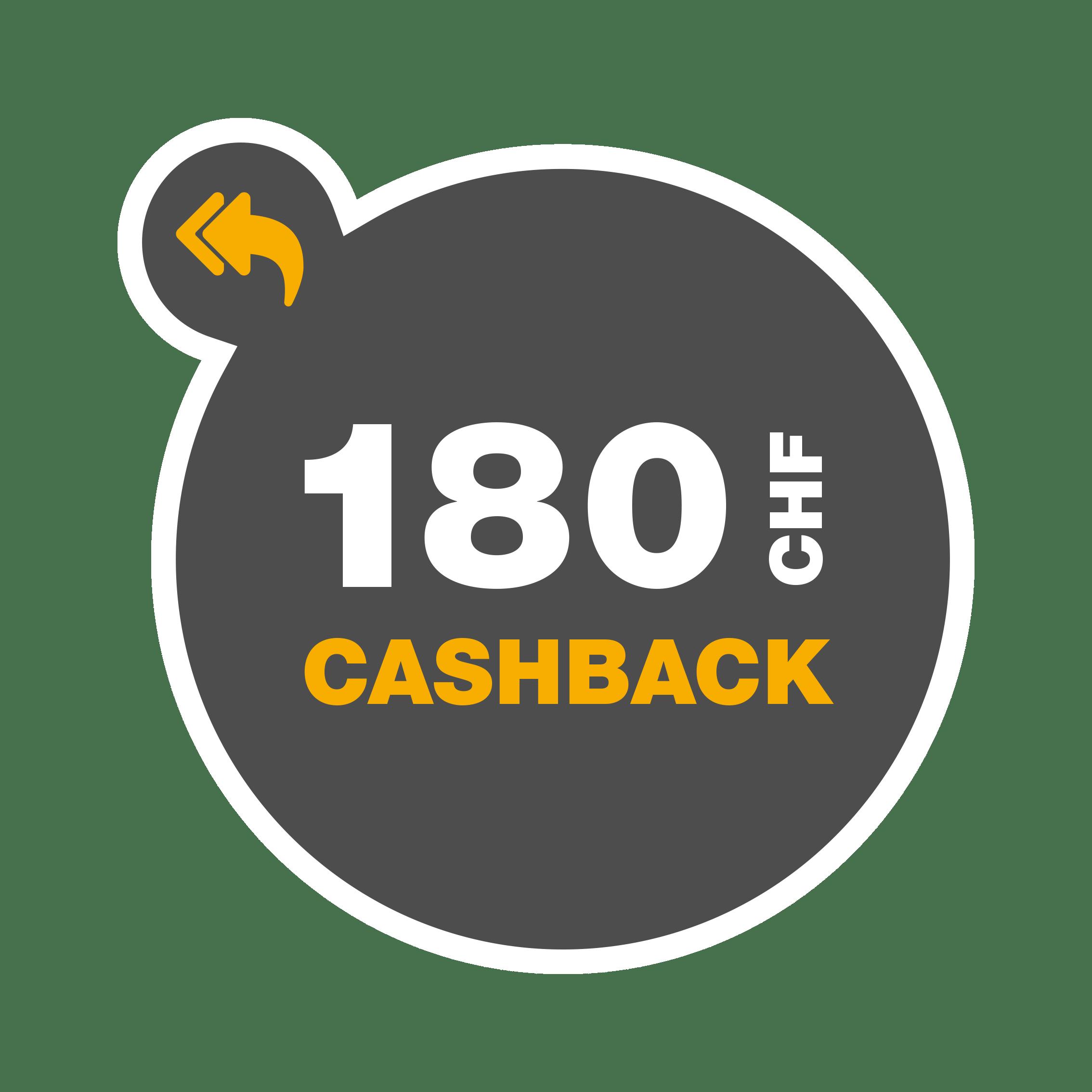 Cashback_CHF180