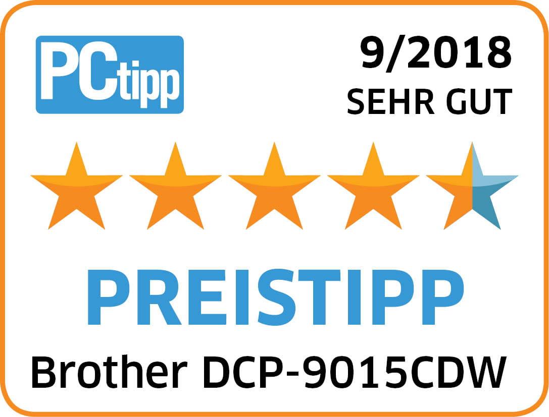 4_5 Sterne_PREISTIPP_Brother DCP-9015CDW_ 08_2018