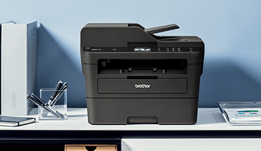 Brother MFC-L2752DW Laser multifunction printer in situ