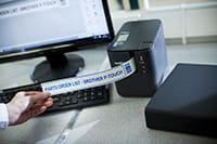 Brother PT-P900W Etikettendrucker mit SDK