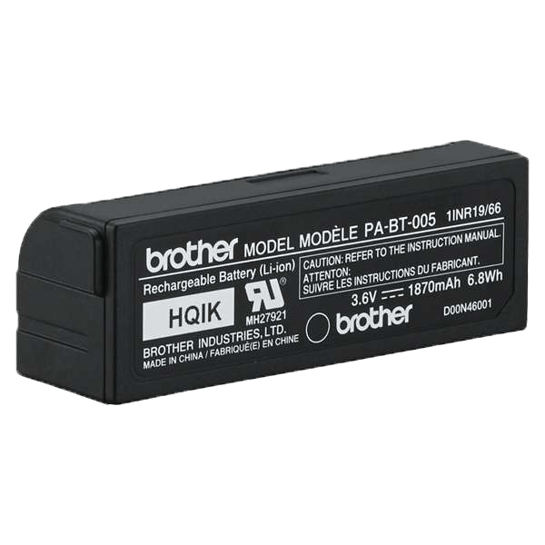 PA-BT-005 pile rechargeable (pour le Brother P-touch CUBE Plus) 4