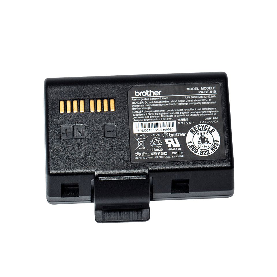 Batterie lithium-ion intelligente Brother PA-BT-010 2
