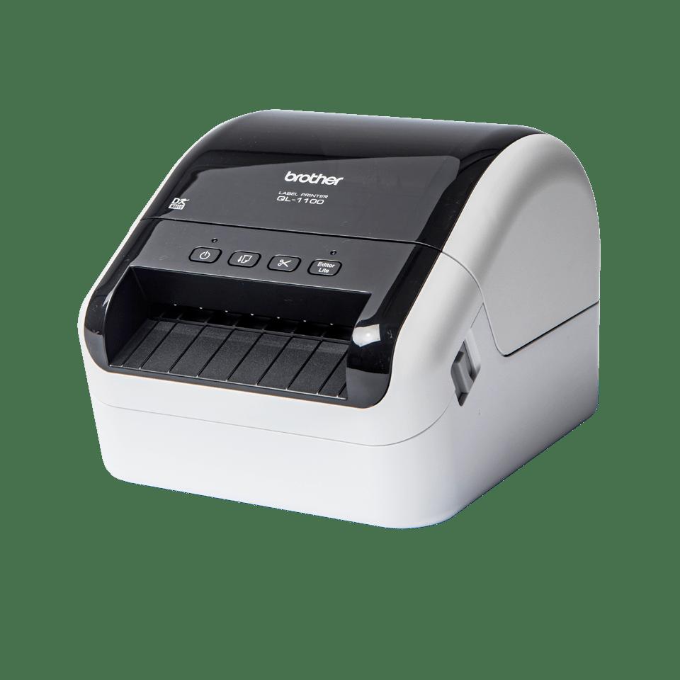 QL-1100 Etikettendrucker für breite Versand- und Barcodeetiketten