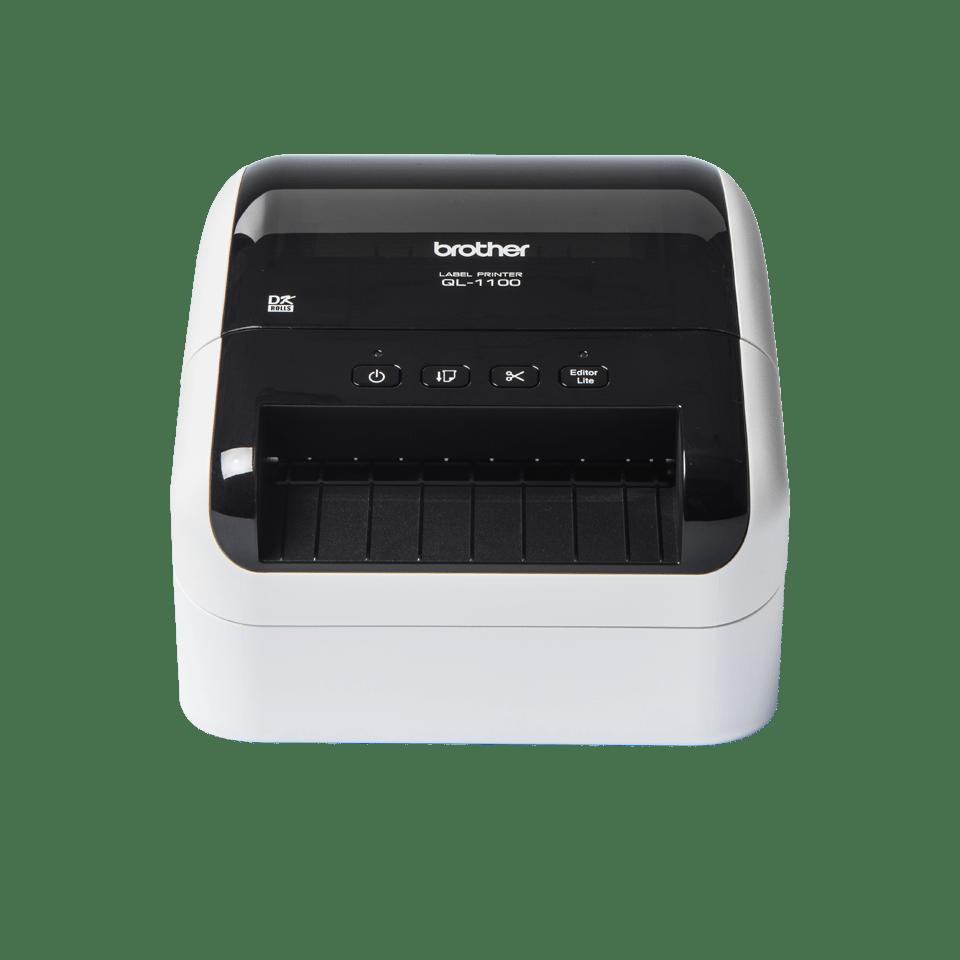 QL-1100 Etikettendrucker für breite Versand- und Barcodeetiketten 2