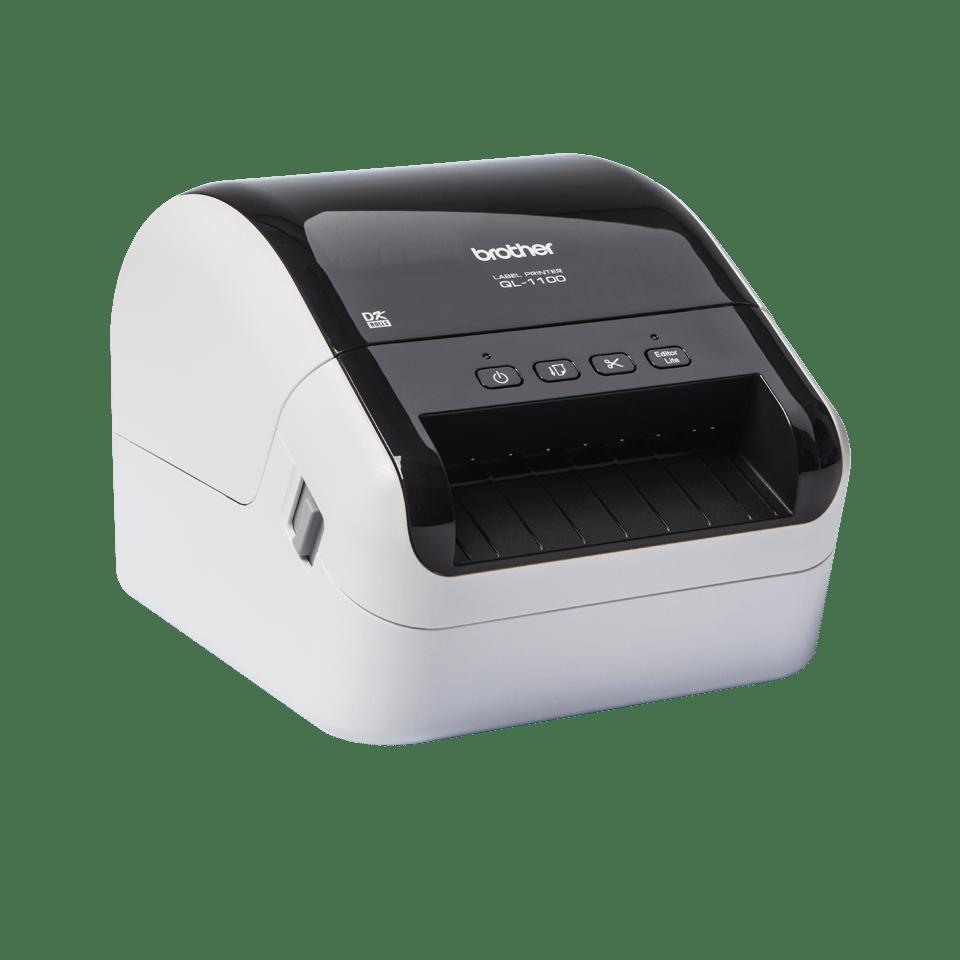 QL-1100 Etikettendrucker für breite Versand- und Barcodeetiketten 3