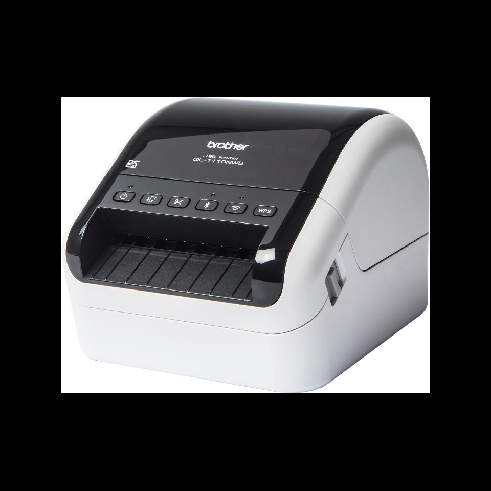 QL-1110NWB Etikettendrucker für breite Versand- und Barcodeetiketten 2