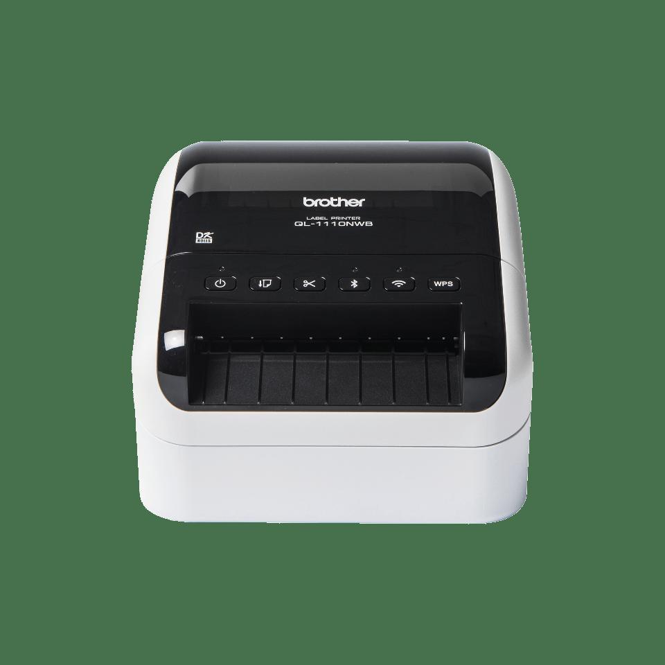 QL-1110NWB Etikettendrucker für breite Versand- und Barcodeetiketten