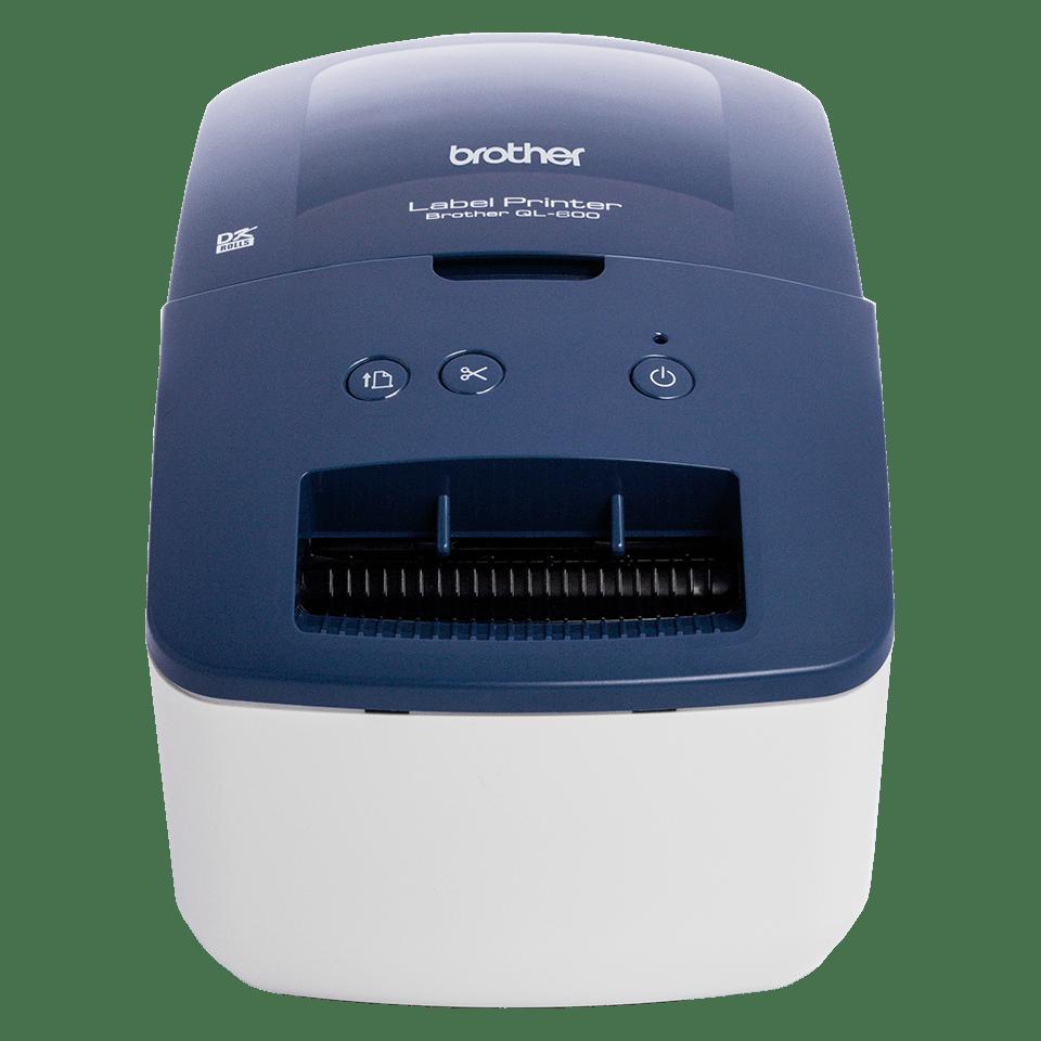 Imprimante d'étiquettes d'affranchissement et d'adresse QL-600B