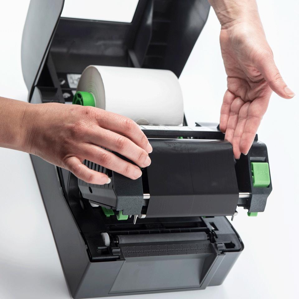 Imprimante d'étiquettes de bureau à transfert thermique Brother TD-4420TN 5