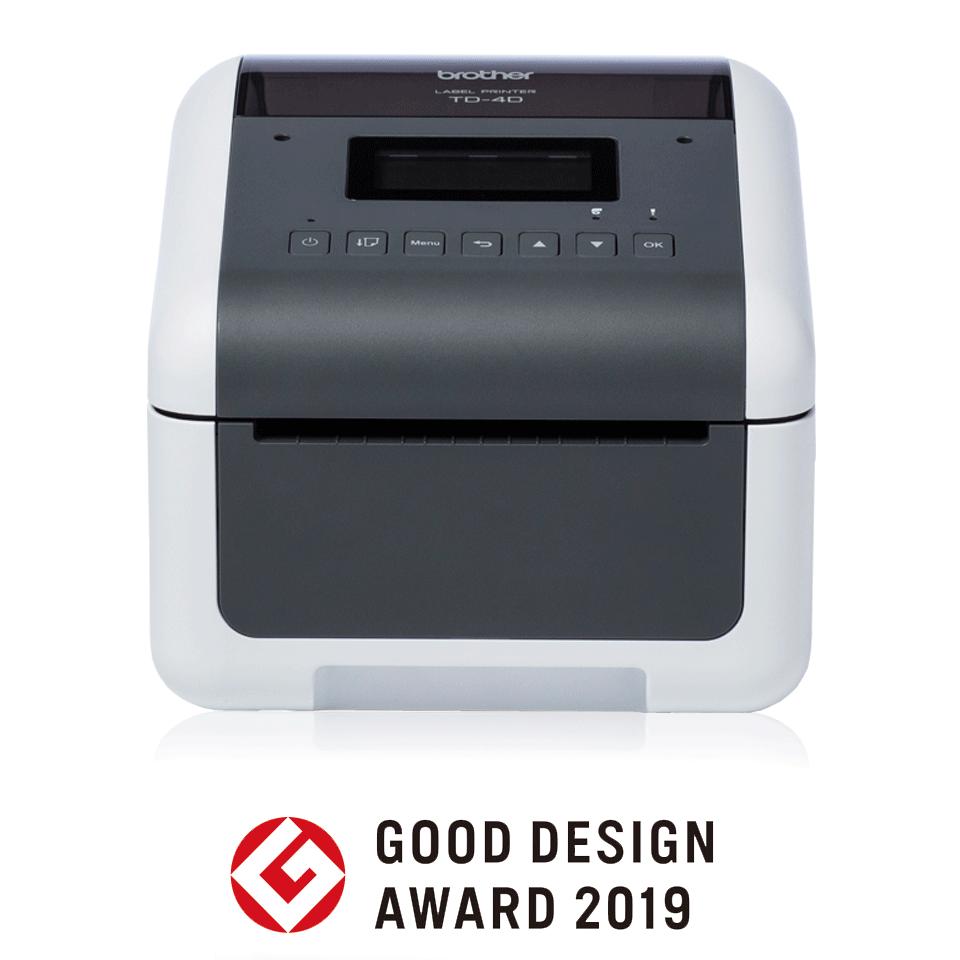 TD-4550DNWB Professioneller Desktop-Etikettendrucker