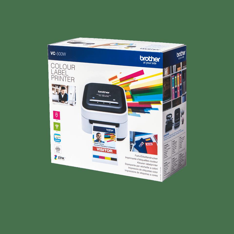 Imprimante d'étiquettes pleine couleur VC-500W 4