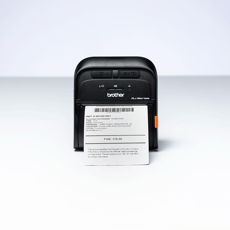 Imprimante de reçus et d'étiquettes mobile Brother RJ-3055WB 6