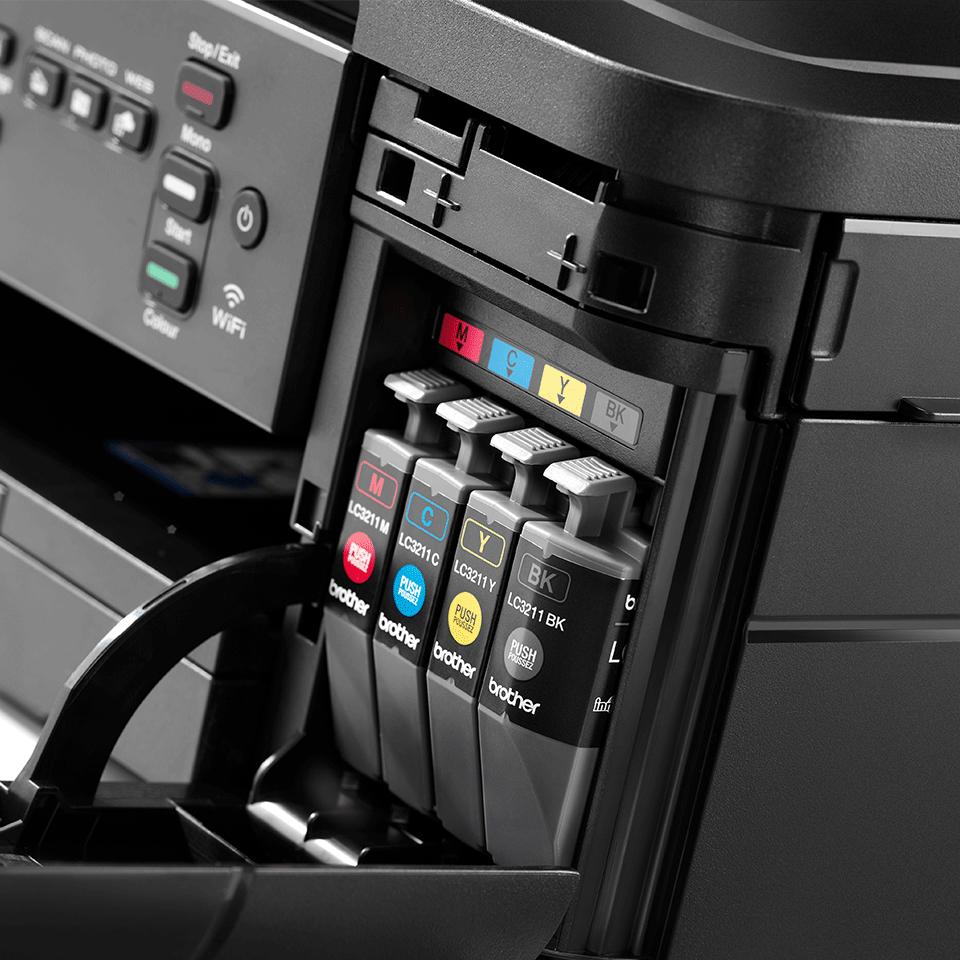 Imprimante jet d'encre couleur Wifi 3-en-1 DCP-J572DW 6