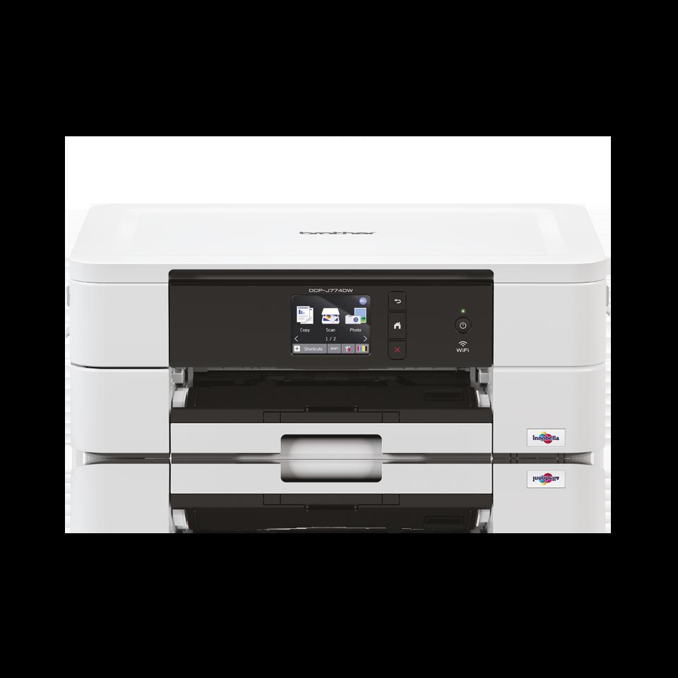 Imprimante jet d'encre couleur 3-en-1 wifi DCP-J774DW