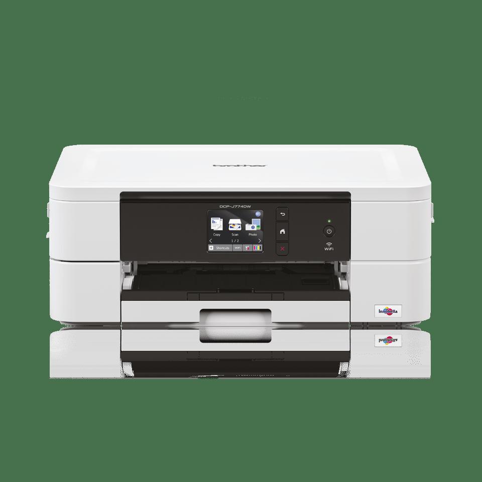 Drahtloser 3-in-1-Tintenstrahl-Farbdrucker DCP-J774DW 5
