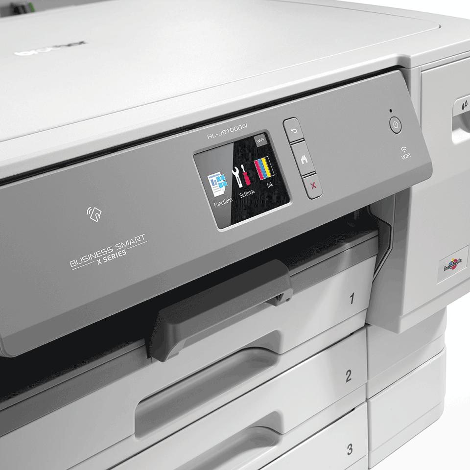 Imprimante jet d'encre couleur A3 sans fil HL-J6100DW 5
