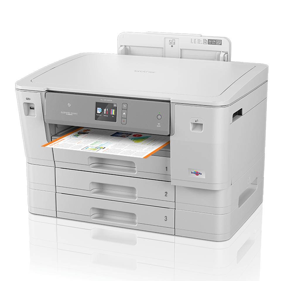 HL-J6100DW kabelloser DIN A3 Tintenstrahl-Farbdrucker 2