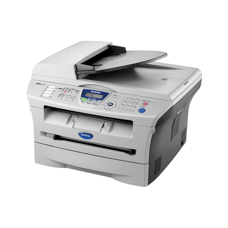 brother mfc-7420 how to scan a document