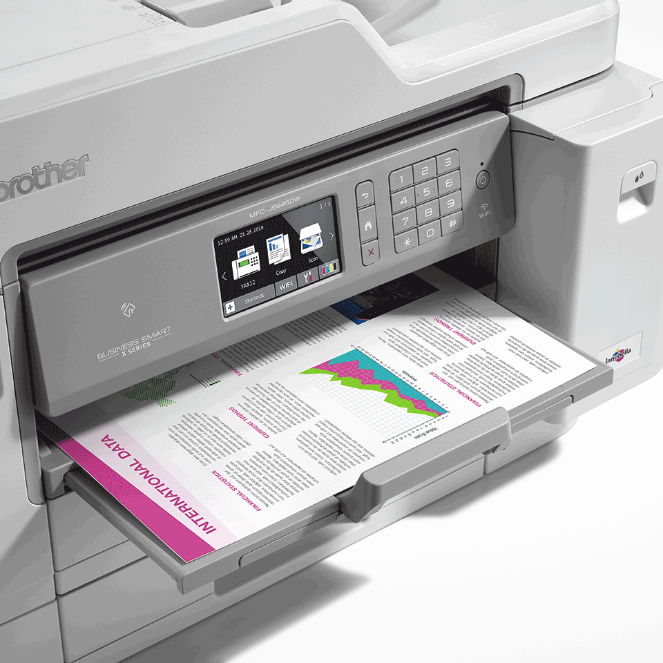 MFC-J5945DW kabelloser 4-in-1 DIN A3 Tintenstrahl-Farbdrucker 5