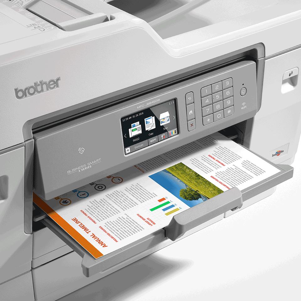 MFC-J6945DW kabelloser 4-in-1 DIN A3 Tintenstrahl-Farbdrucker 6