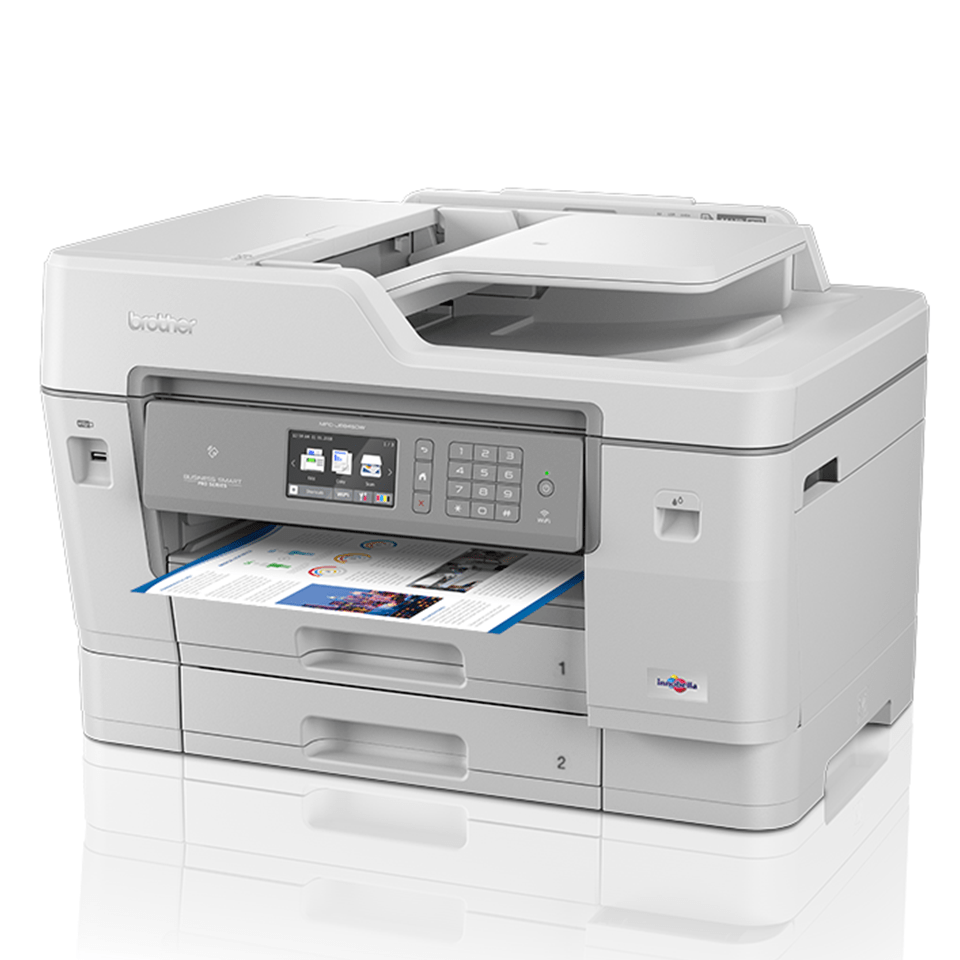 MFC-J6945DW kabelloser 4-in-1 DIN A3 Tintenstrahl-Farbdrucker 2