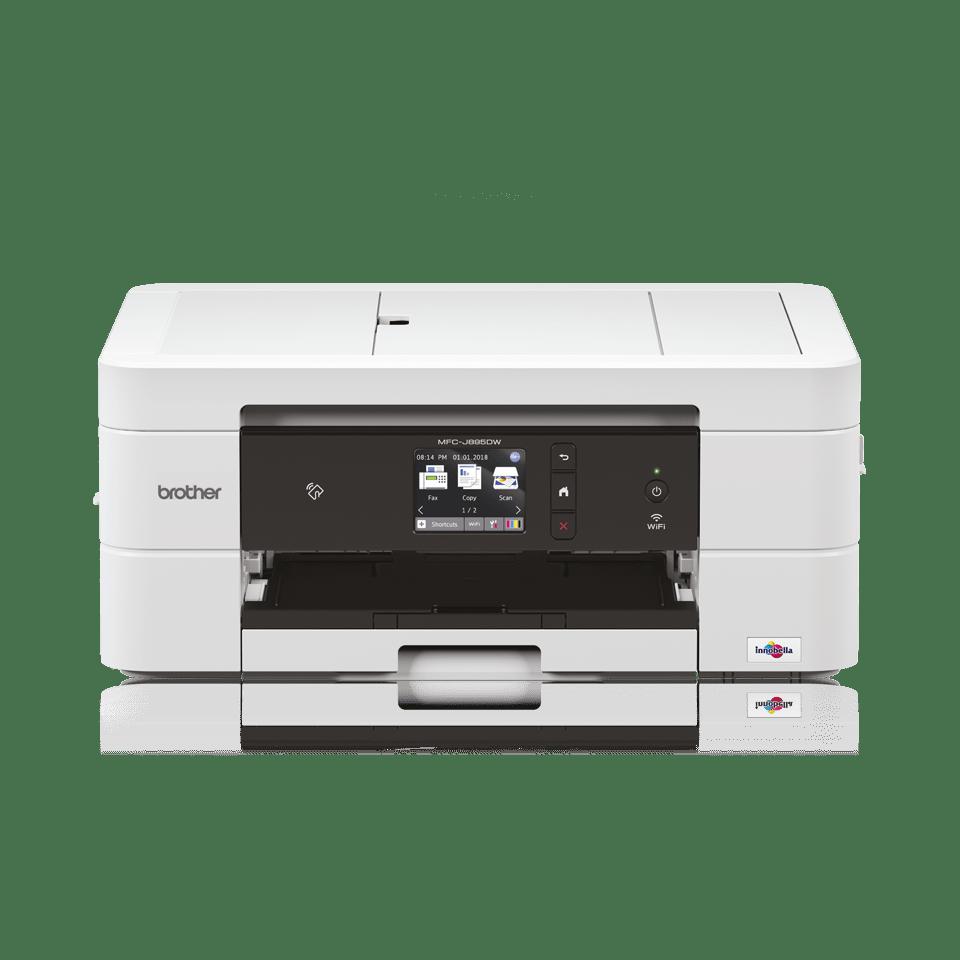 Imprimante jet d'encre couleur 4-en-1 wifi MFC-J895DW