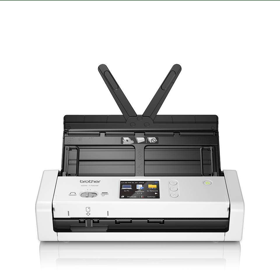 ADS-1700W Scanner de documents compact et intelligent 5