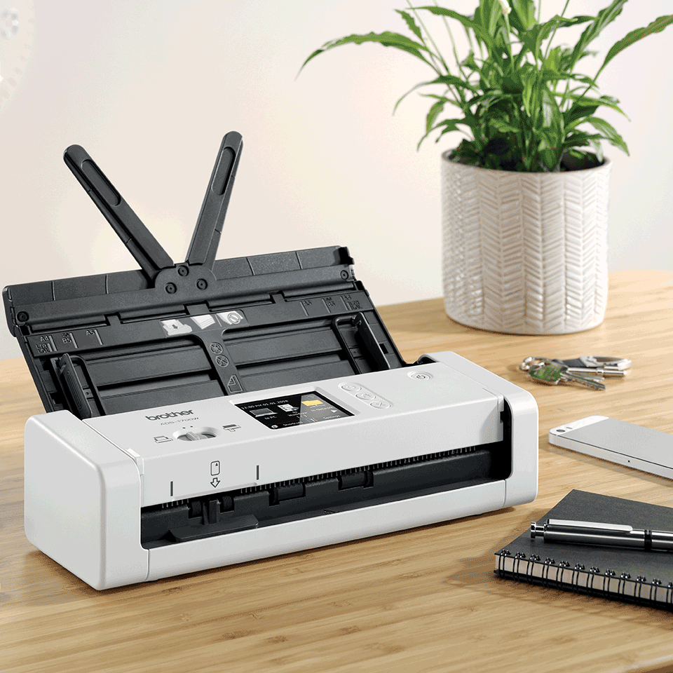 ADS-1700W Scanner de documents compact et intelligent 6