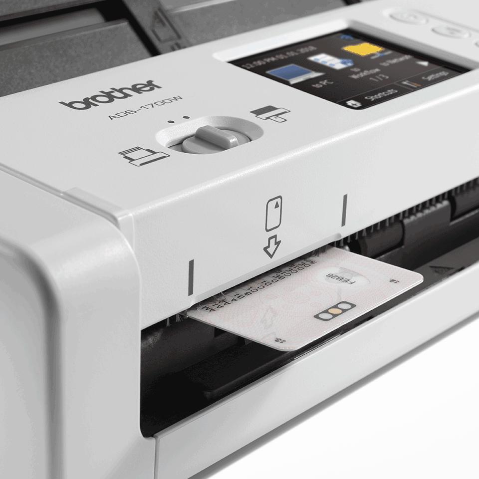 ADS-1700W Scanner de documents compact et intelligent 7