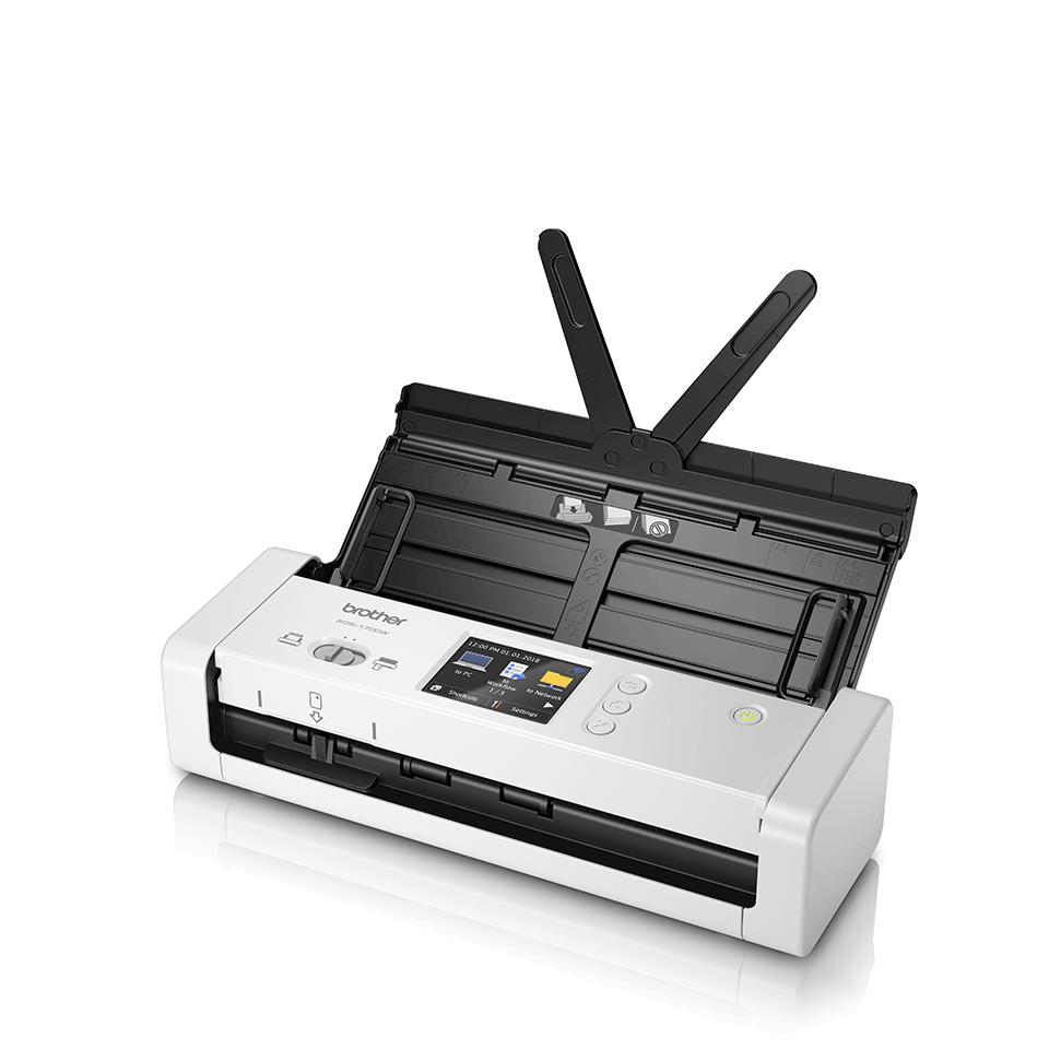 ADS-1700W Scanner de documents compact et intelligent 2