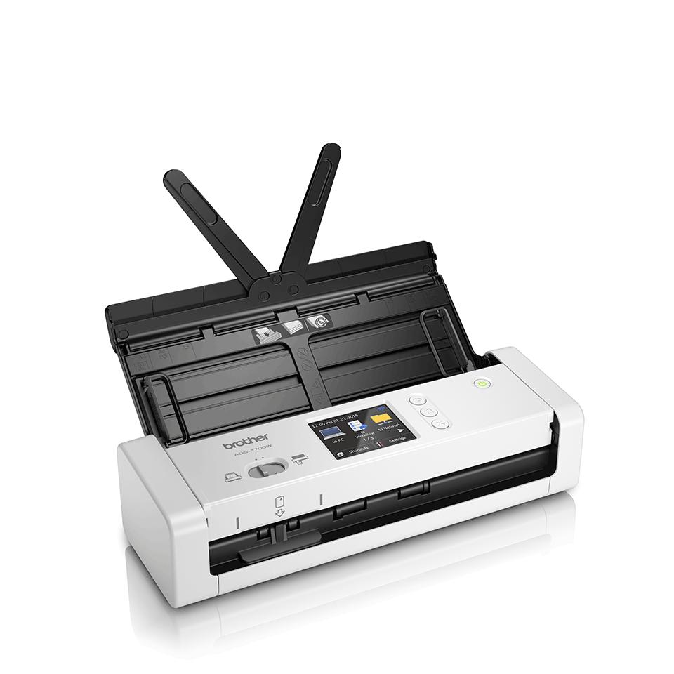 Smarter und kompakter ADS-1700W Dokumentenscanner 3