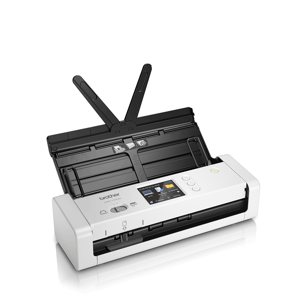 ADS-1700W Scanner de documents compact et intelligent 3