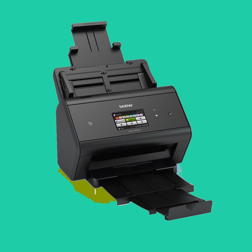 ADS-3600W schneller Wireless- und Netzwerk-Desktopscanner 3