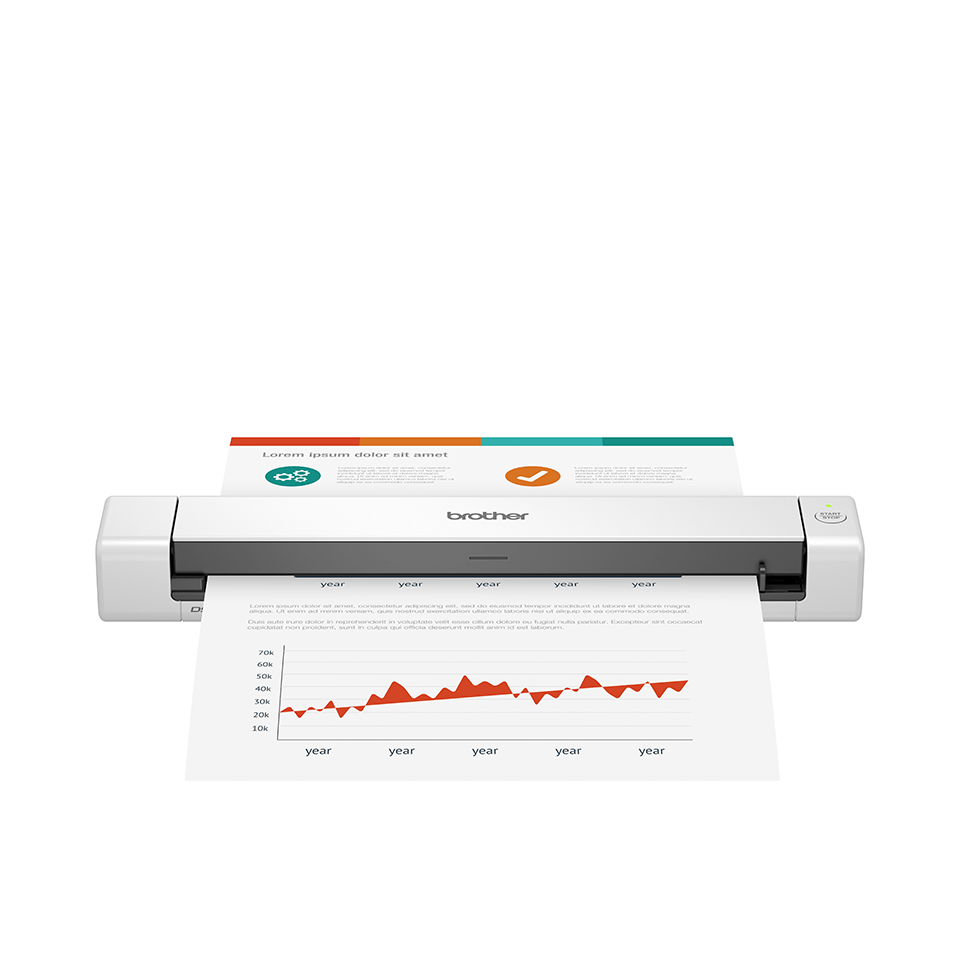 Scanner de documents portable Brother DSmobile DS-640