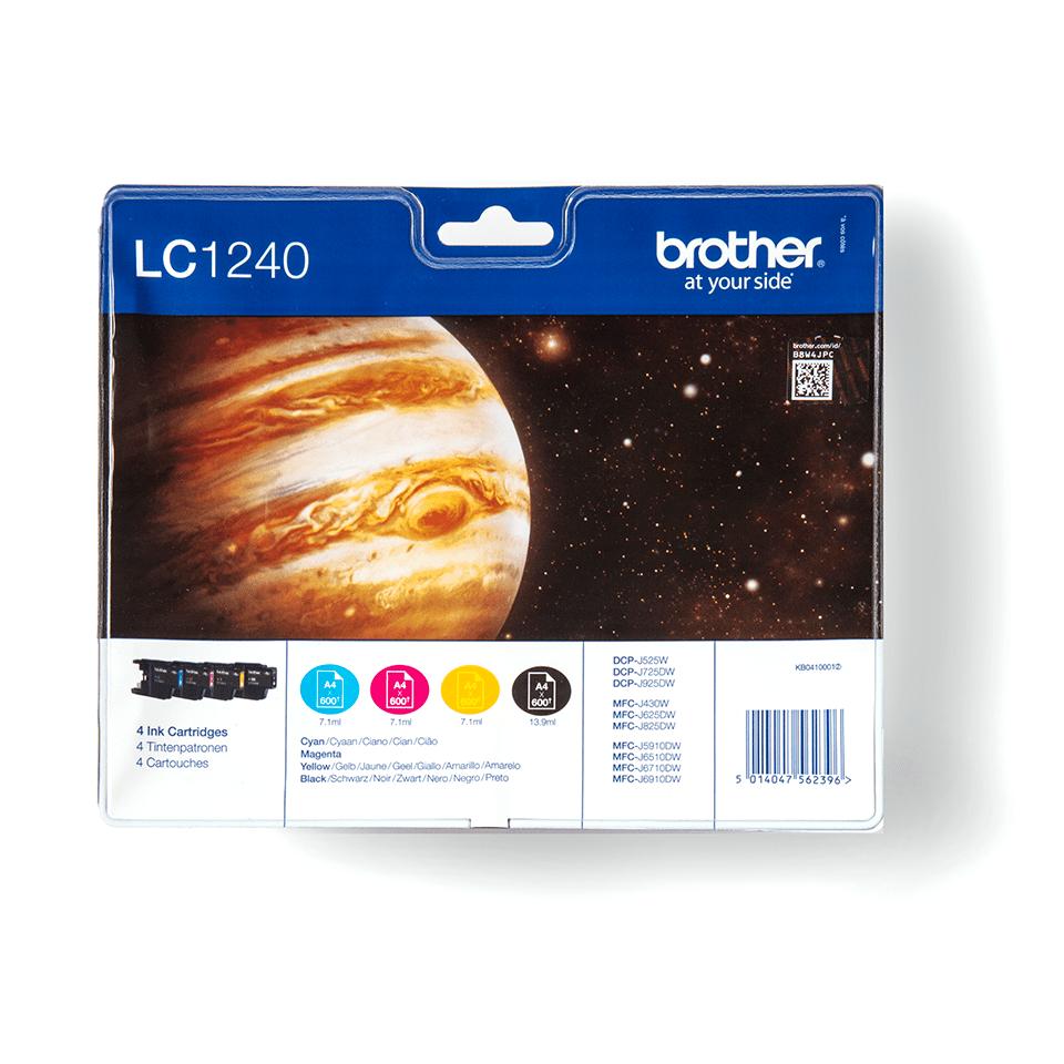 Pack de cartouches d'encre LC1240VALBP Brother originales