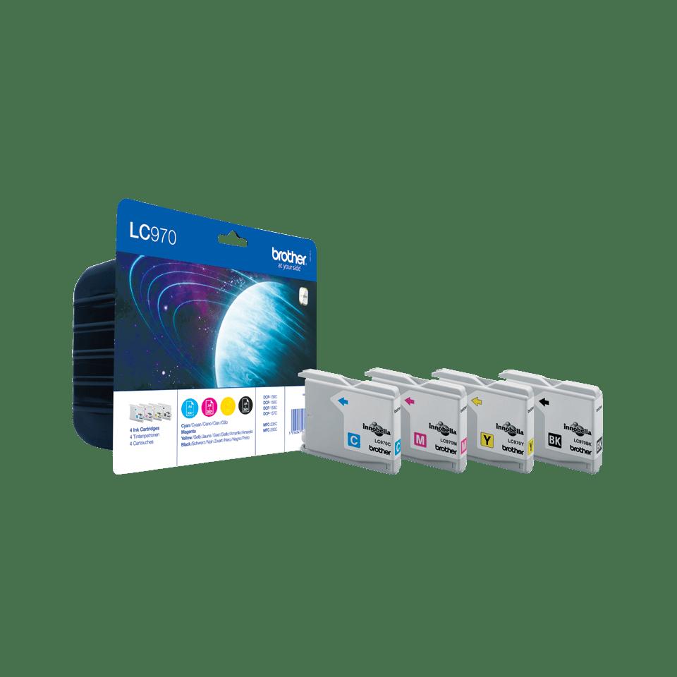 Original LC-970VALBP Tintenpatronen von Brother (Multipack)