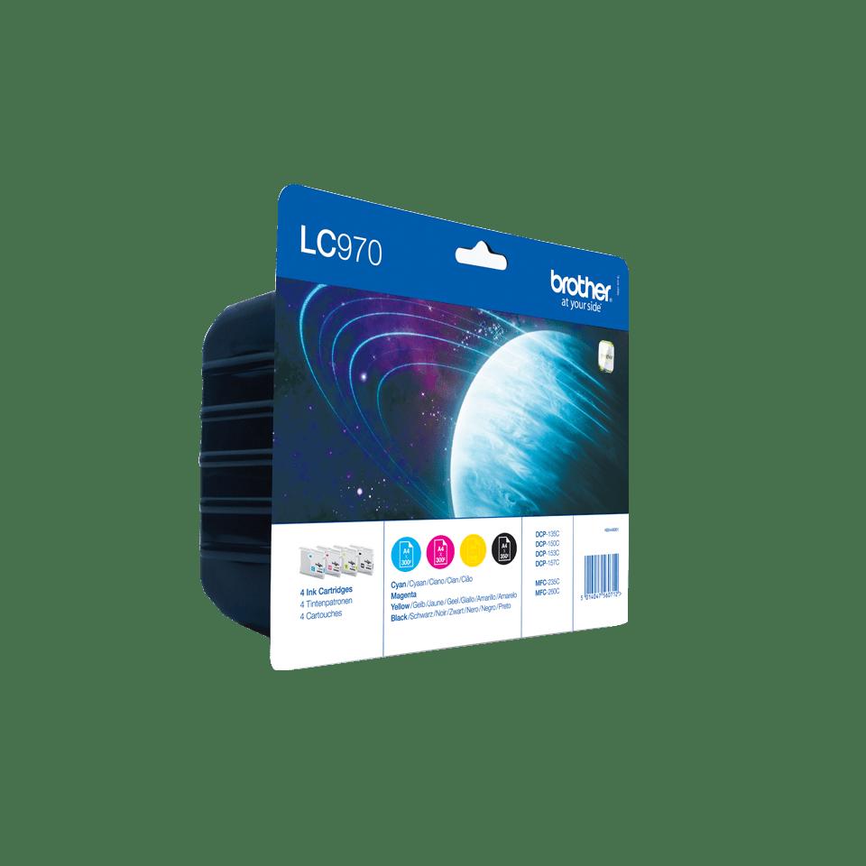 Original LC-970VALBP Tintenpatronen von Brother (Multipack) 2