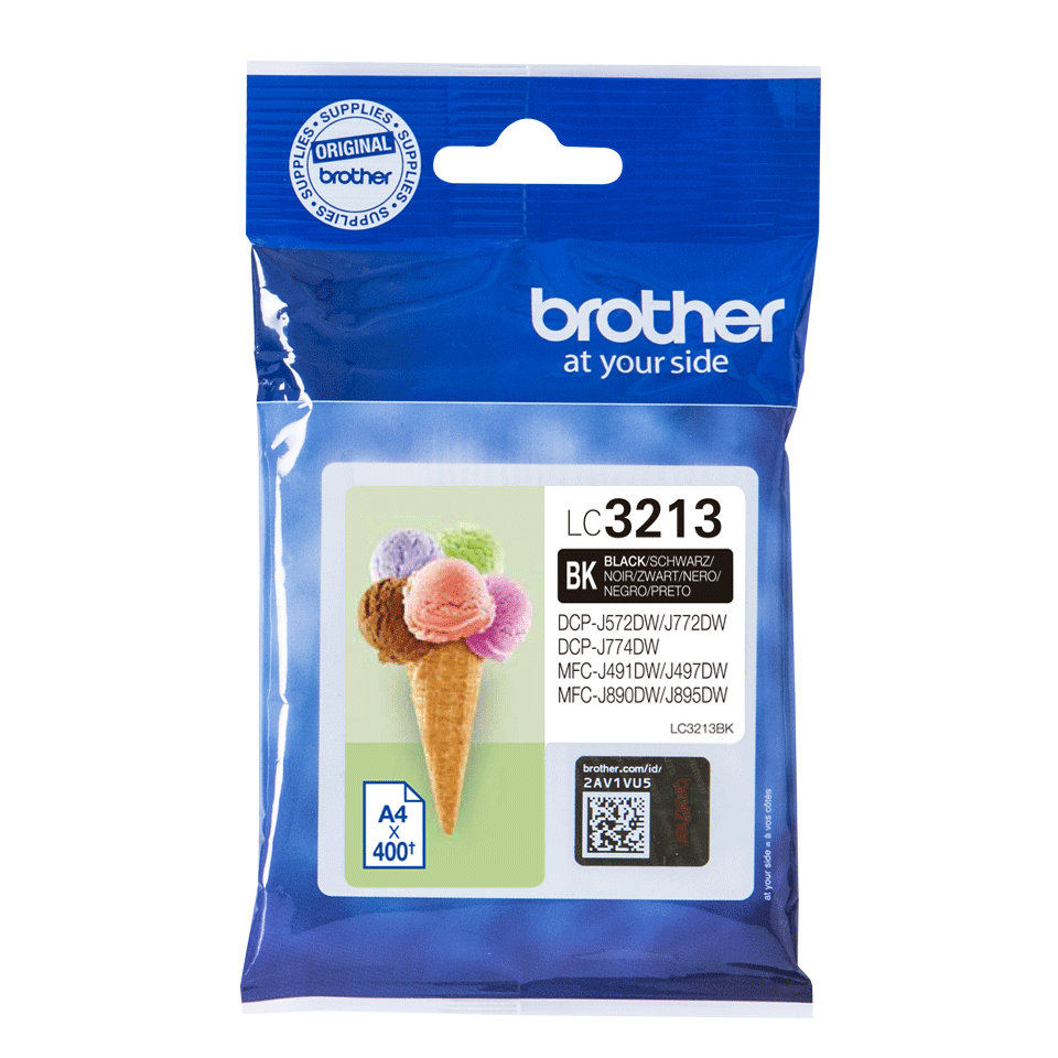 Brother LC-3213-BK Tintenpatrone – Schwarz 2
