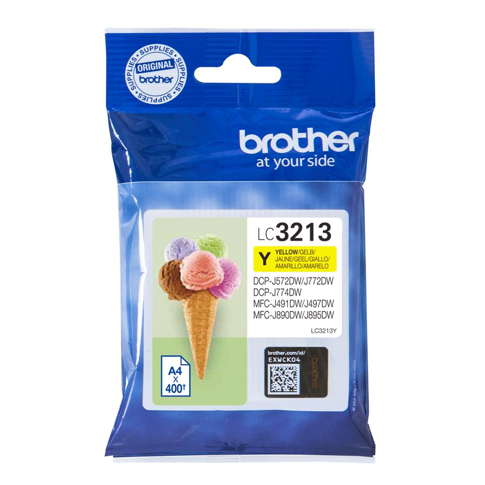 Brother LC-3213Y Tintenpatrone – Gelb