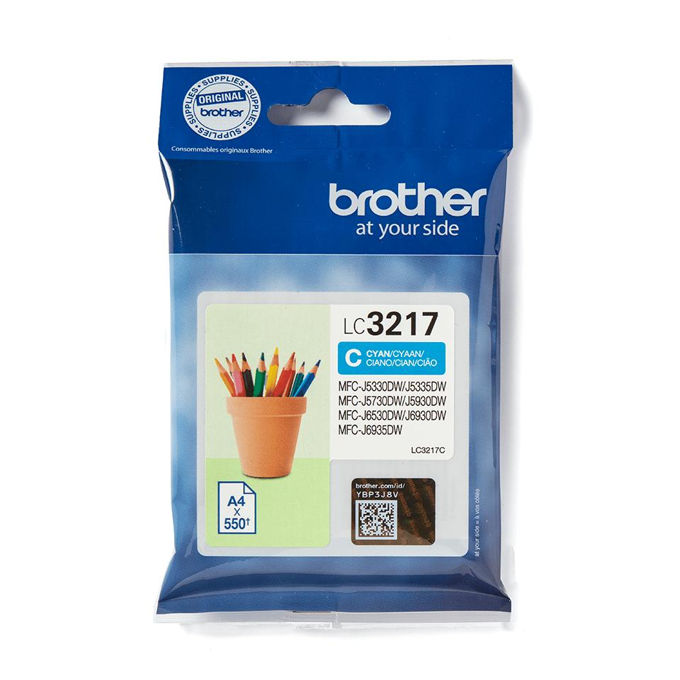 Original LC-3217C Tintenpatrone von Brother – Cyan 2