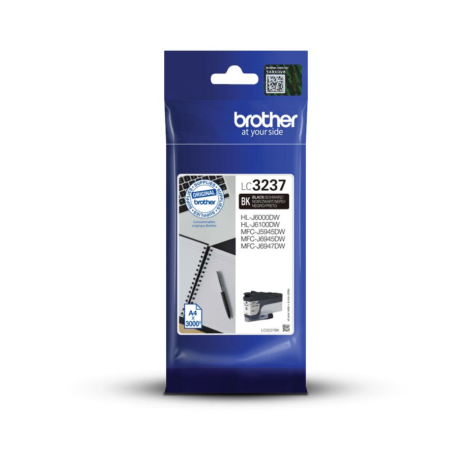 Original Brother LC3237BK Tintenpatrone – Schwarz 3