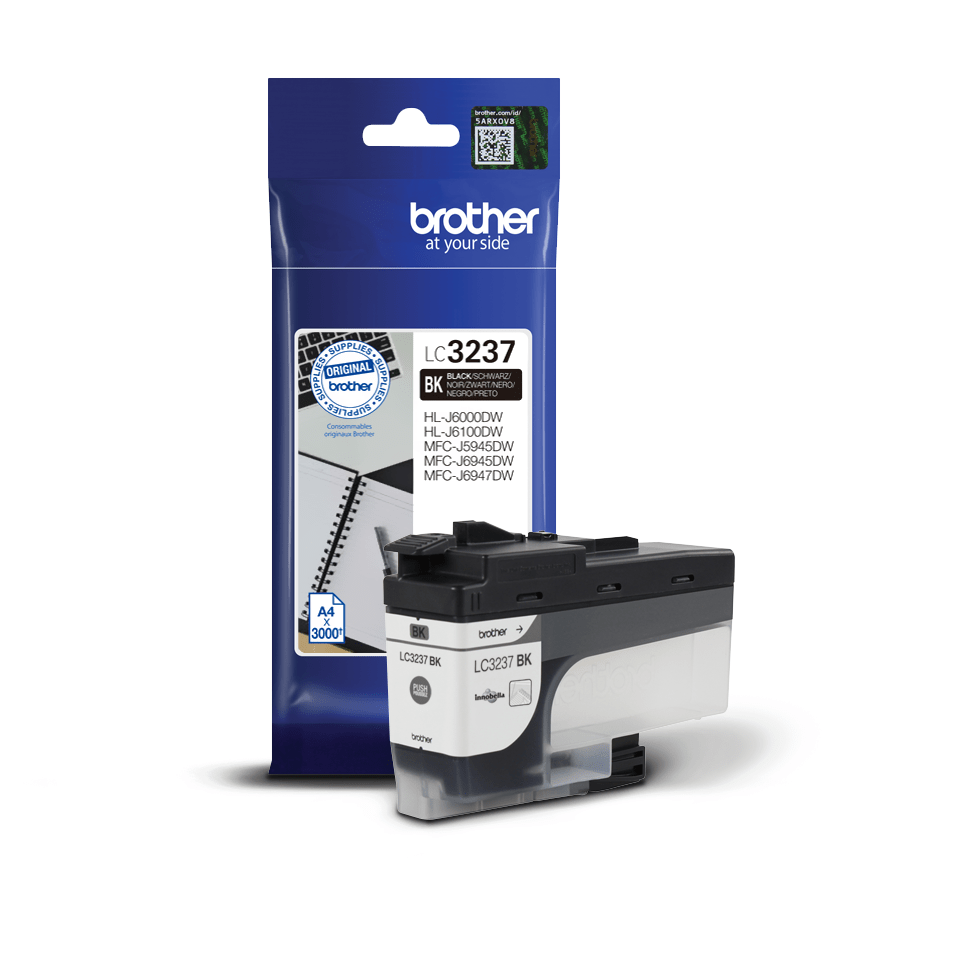Original Brother LC3237BK Tintenpatrone – Schwarz 2