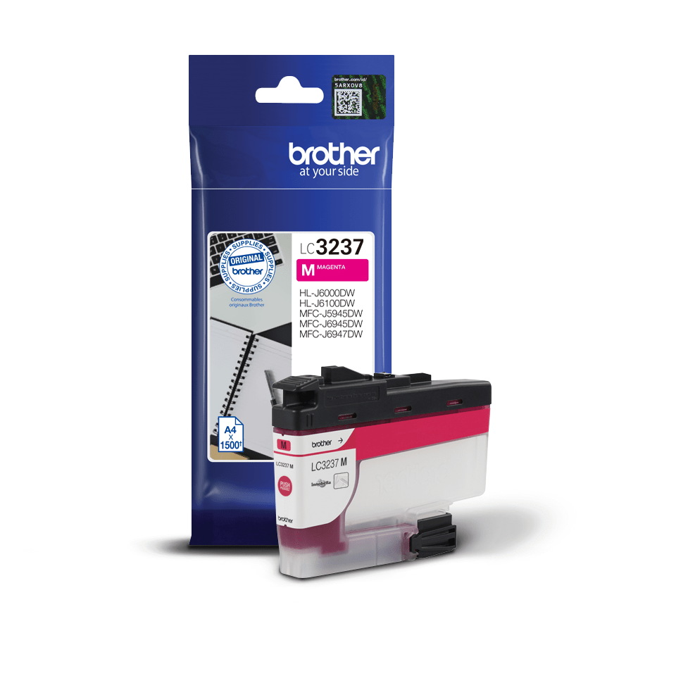 Cartouche d'encre LC3237M Brother originale, magenta 3