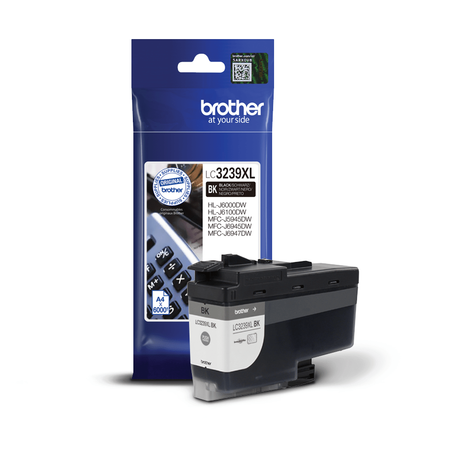 Original Brother LC3239XLBK High Yield Tintenpatrone – Schwarz 2