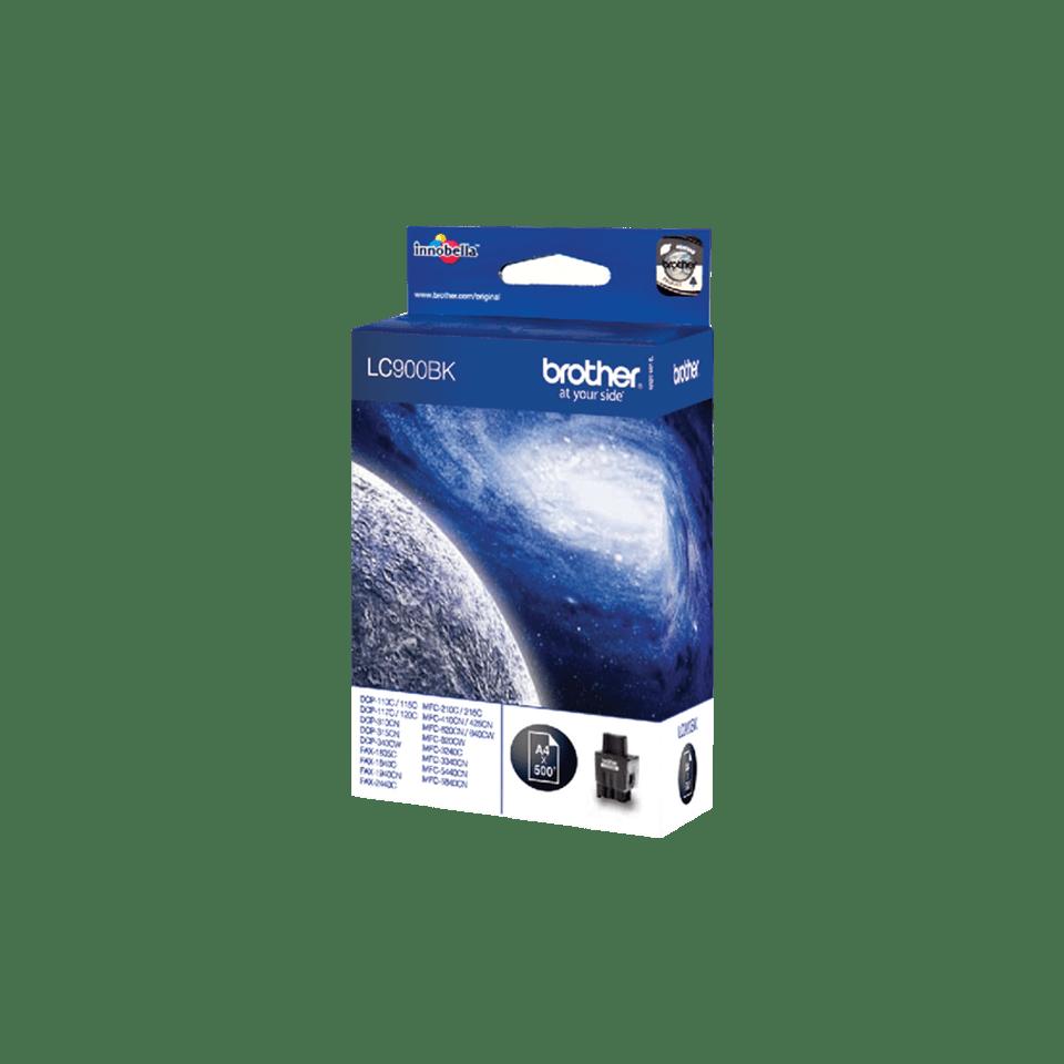 Original LC-900BK Tintenpatrone von Brother – Schwarz 2