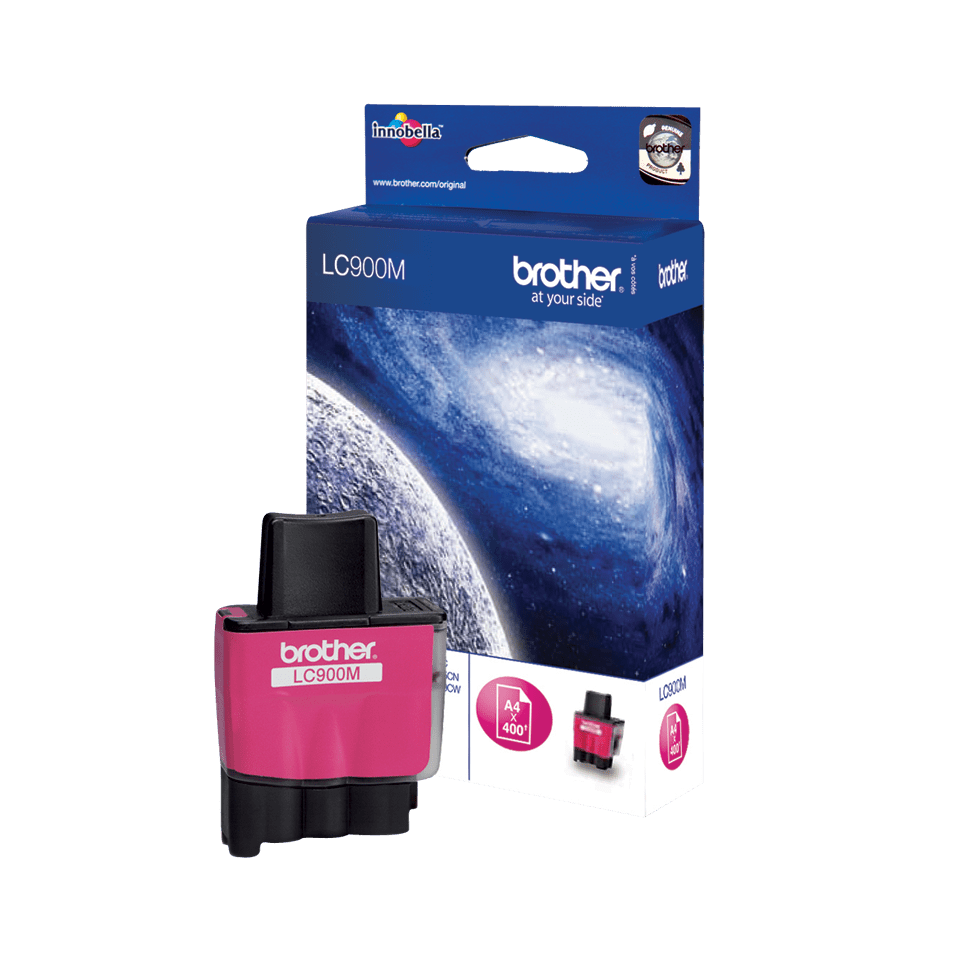 Original LC-900M Tintenpatrone von Brother – Magenta